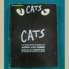 CATS ~ Andrew Lloyd Webber ~ Musical Score for Piano/Guitar/Voice ~ based on T. S. Eliot's poems