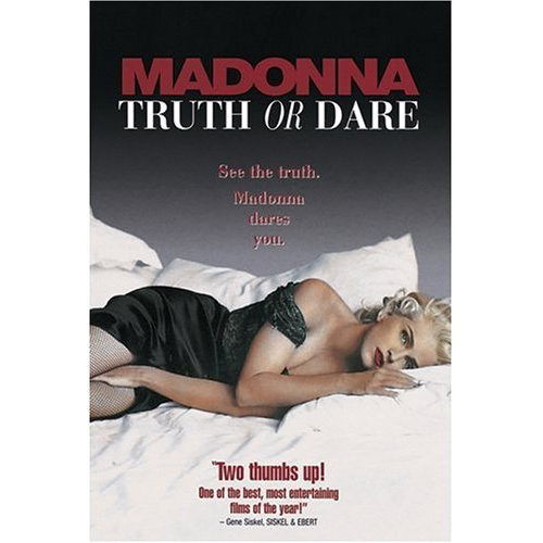 MADONNA - TRUTH OR DARE ~ rare DVD ~Widescreen & Standard + Bonus Features ~R1