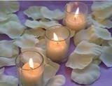 100 Ivory Silk Rose Petals Weddings Crafts (Large)