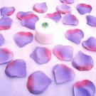 250 Lavender - Pink Two Tone Silk Rose Petals Weddings Crafts (Large)