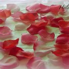 250 Mix of Red and Pink Silk Rose Petals Weddings Crafts