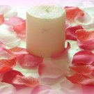 500 Mix of Red and Pink Silk Rose Petals Weddings Crafts