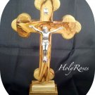 Olive Wood Standing/Table/Altar Station Cross Crucifix 20 cm S