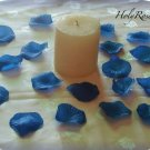 100 Blue Silk Rose Petals Weddings Crafts (TL)