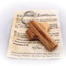 Olive Wood Comfort Cross Keyring Square Chunky Design HJW