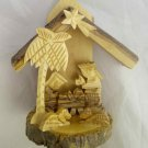 Olive Wood Christmas Nativity Creche Scene (G - BIS14)