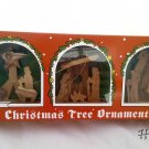 Presentation Set of 3 Mini Olive Wood Nativity Scenes