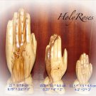 Praying Hands Statue - Hand Carved Olive Wood  - Small