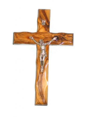 """8"""" / 20 cm Olive Wood Crucifix"""