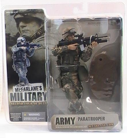 MCFARLANE MILITARY ARMY PARATROOPER 2005