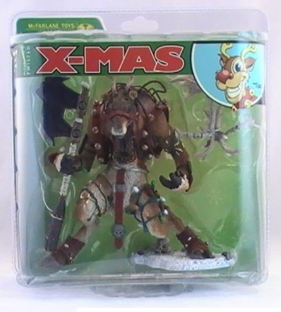 McFarlanes Twisted Christmas Rudy Reindeer