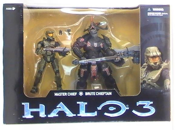 McFarlane HALO Master Chief & Brute Costco pack