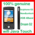 100% genuine Unlock Sciphone wifi dream G2 google map JAVA PDA phone
