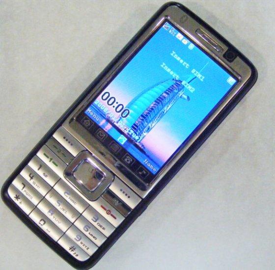 Free ship Unlocked Unlocked DVB-T TV mobile phone T1000D 2SIM 2band phone