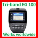 Free ship Unlock Tri-band watch phone EG100 touch screen,Camera
