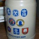 Muchner Bier Stein (no lid)