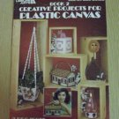 Vintage Book 2 Creative Projects for Plastic Canvas-- Leaflet 229