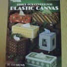 Vintage Tissue Box Covers for Plastic Canvas-- Leaflet 199