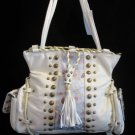 Western Princess Beige handbag bag tote NWT s