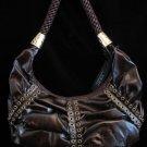 Brown HoBo bag rivet detail Handbag purse Handbags