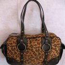 Cheetah Print handbag HOT side pocket design bag purse