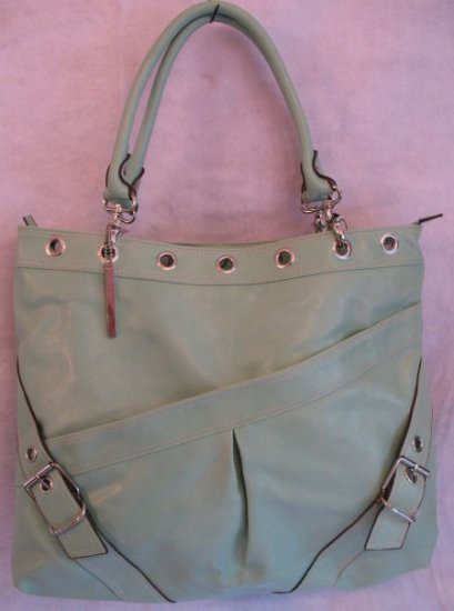 Cool Mint Green Oversized Chinese Laundry Brand Handbag SOLD OUT