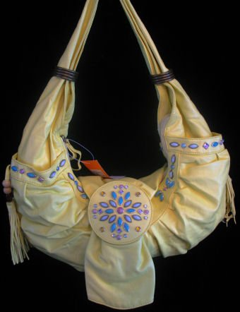 Rodeo tassles beaded handbag bag purse
