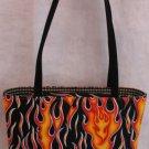 Flaming Hot Handbag Bag Purse Nwt Fabric