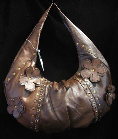 Bohemian hobo boho leather like bag handbag purse