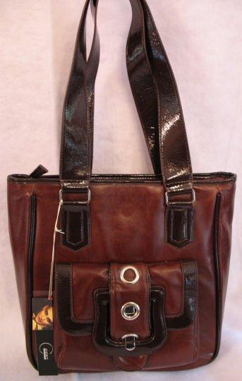 Designer inspired single pocket Front Handbag bag purse