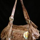 Hobo distressed leather look Cowgirl handbag bag purse