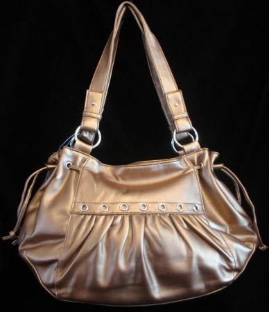 Smooth Metallic Bronze handbag purse bag Boho side tie SOLD OUT