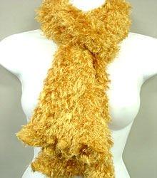 Light Gold Magic Scarf scarves wrap muffler