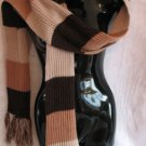 Brown Tan Beige scarf & Hat set Scarves hats