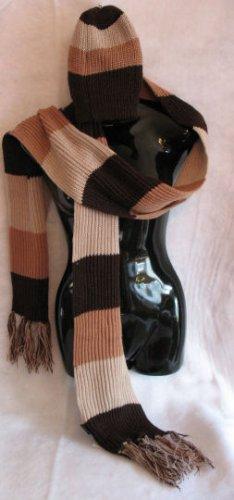Brown Tan Beige scarf & Hat set Scarves hats