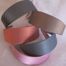 1 PINK Striped Headband Womens Hair Accessories s