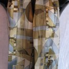 Geometric Scarf Sage Green & Blue Scarves Wrap