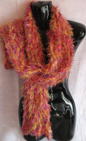 Purple Yellow & Hot Pink Magic Scarf Scarves Wrap SOFT!