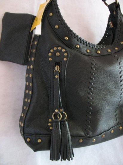 Black Western Style Studded handbag bag purse