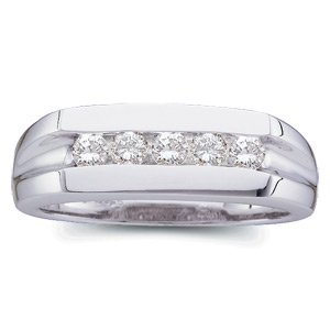 DIAMOND MEN'S RING PLATINUM