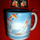 SAILING AWAY STONEWARE MUG *NEW IN BOX*
