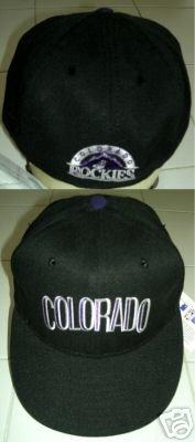 COLORADO ROCKIES GENUINE TEAM BASEBALL CAP, SIZE 6.5  *NEW*