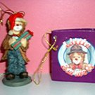 "LITTLE EMMETT JR ""YOUR PRESENT"" ORNAMENT, **NEW**"