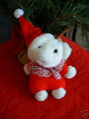 CHRISTMAS BEAR STUFFED ANIMAL **NEW**