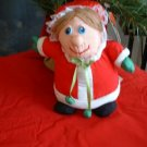 MRS. SANTA TALKING STUFFED FIGURE by GANZ *NEW*