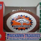DENVER BRONCOS FOOTBALL ORNAMENT COLLECTIBLE *NEW