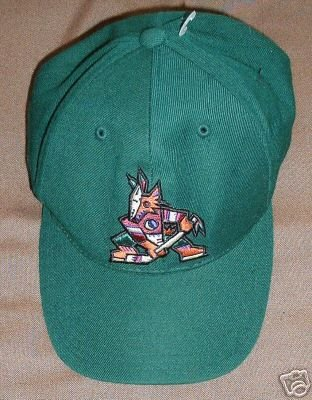 PHOENIX COYOTES NHL BALL CAP, ADJUSTABLE **NEW**