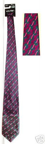 RED HOT CHILI PEPPERS SILK NECK TIE by PURITAN **NEW**