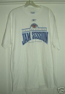 NBA ALL-STAR JAM SESSION 2005 TSHIRT, LARGE *NEW