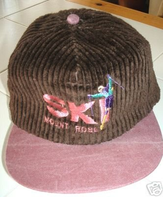 MOUNT ROSE EMBROIDERED ADJUSTABLE BALL CAP  *NEW*